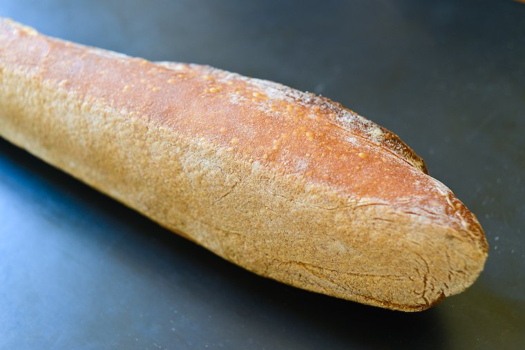 Best Baguette in Paris - Underside