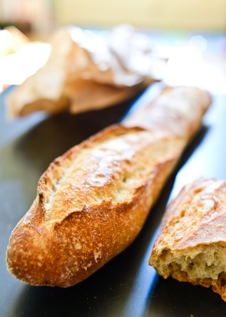 Best Baguette in Paris - Close up