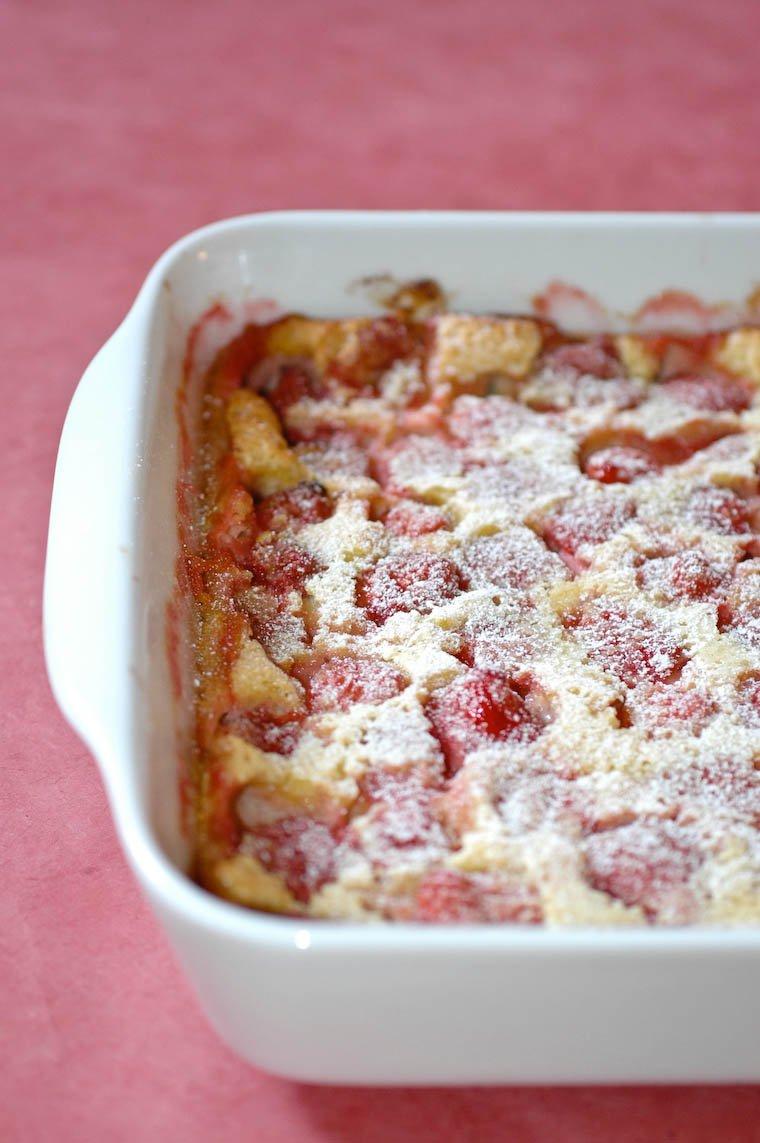 Strawberry Clafoutis