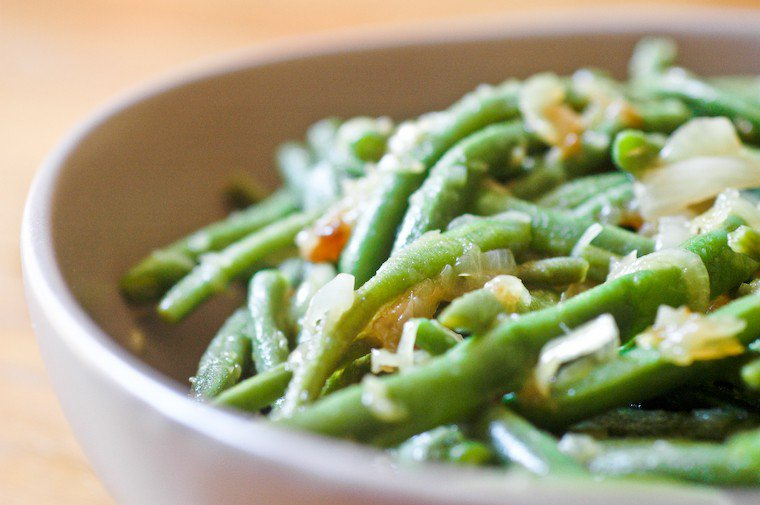 Chicken Family Green Beans Recipe