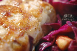 Pork Roast with Spiced Red Cabbage, Apples, and Prunes Recipe ...