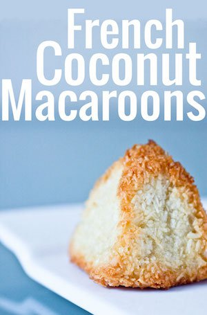 A marvellously simple, three-ingredient recipe for French coconut macaroons. A beloved French classic, gluten-free, and the perfect food gift!