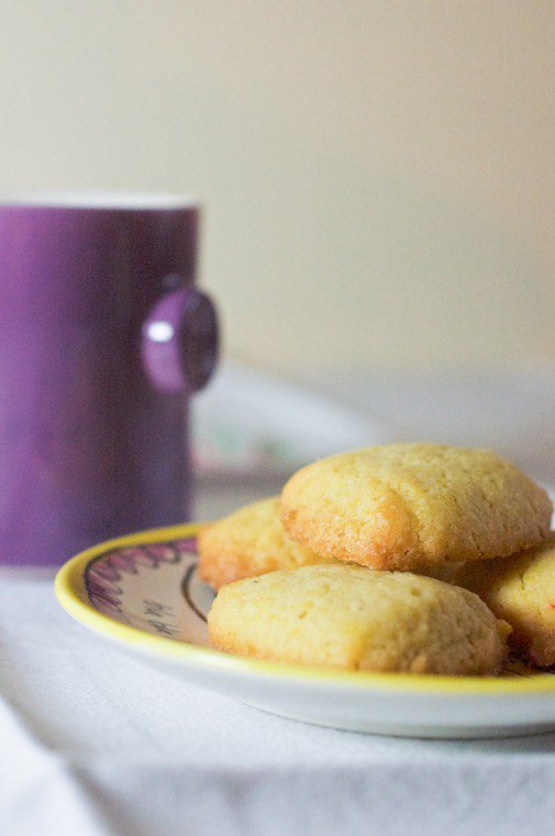 Crumiri (Italian Cornmeal Cookies) Recipe