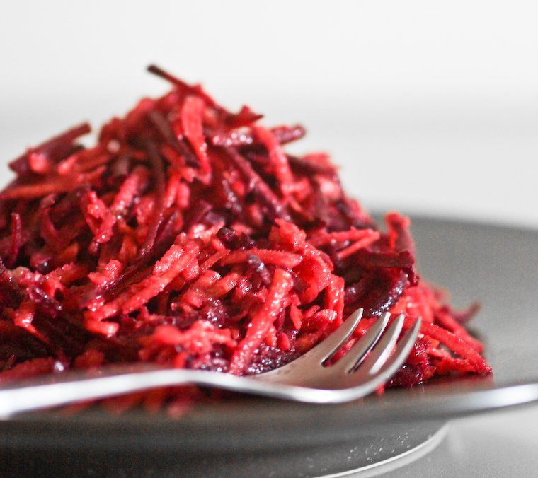 Grated Carrots and Beets Recipe