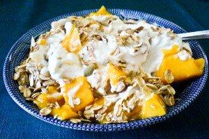 Mango Breakfast Parfait