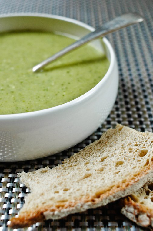 Chilled Pea Pod Soup Recipe