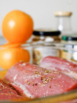 Rosemary and Orange Pork Tenderloin