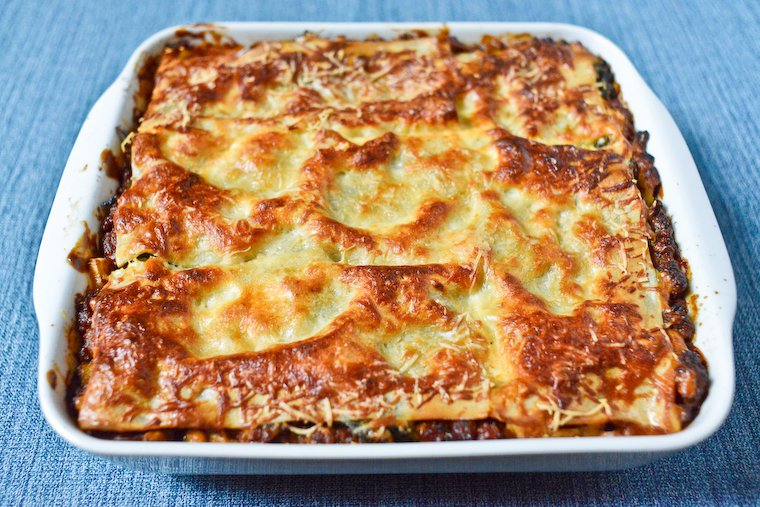 Weeknight Meat and Vegetable Lasagna