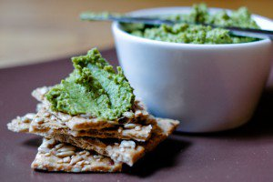 Green Pea Cilantro Spread