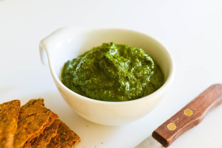 Radish Leaf Pesto Recipe