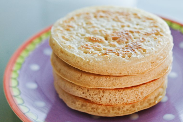 Sourdough Crumpets with Natural Starter Recipe