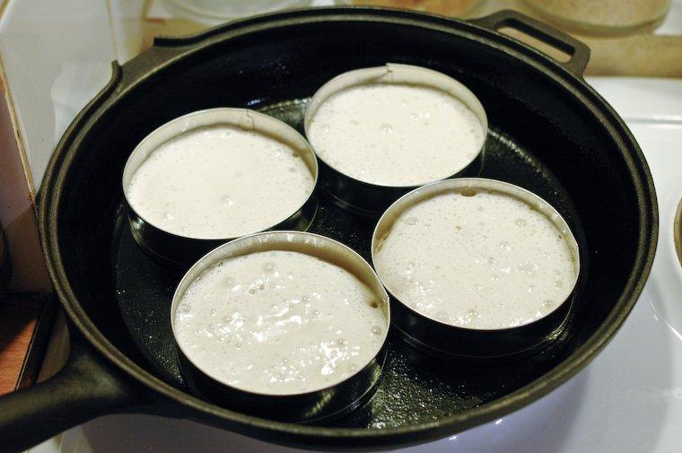 Sourdough Crumpets