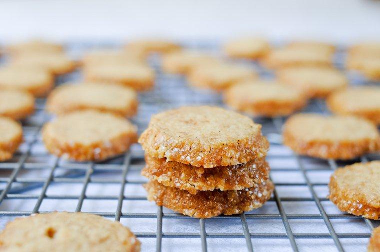 Yves Camdeborde's Sablés (Butter Cookies) Recipe
