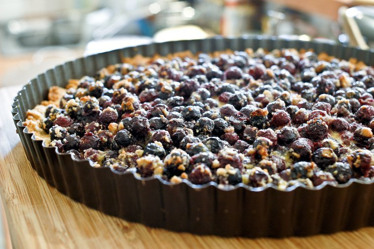 Saskatoon Berry Tart Recipe