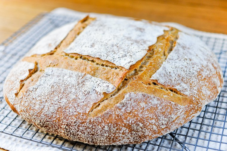 Pain au Levain (Sourdough Bread) Recipe
