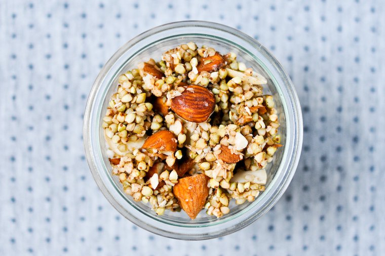 Raw Buckwheat Granola