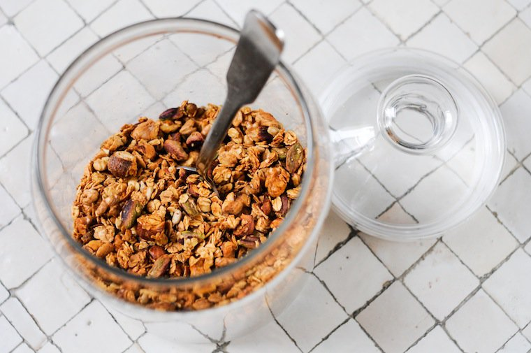 Basic Granola Formula Recipe