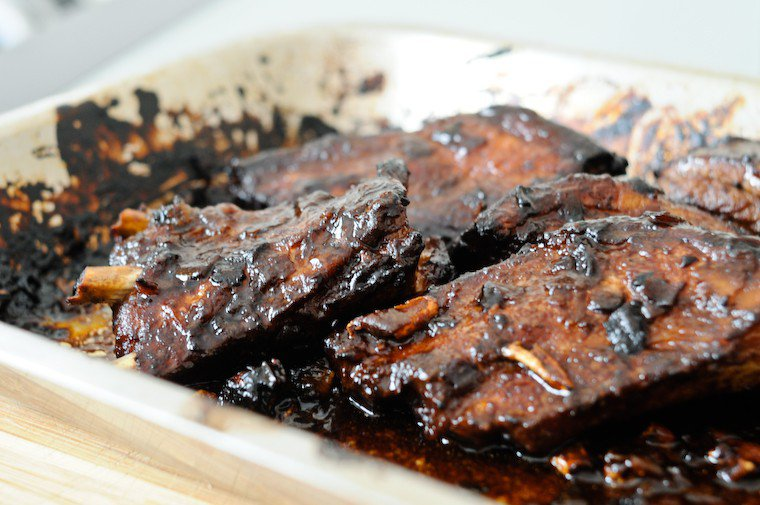 Chinese Marinated Pork Ribs Recipe Chocolate Zucchini