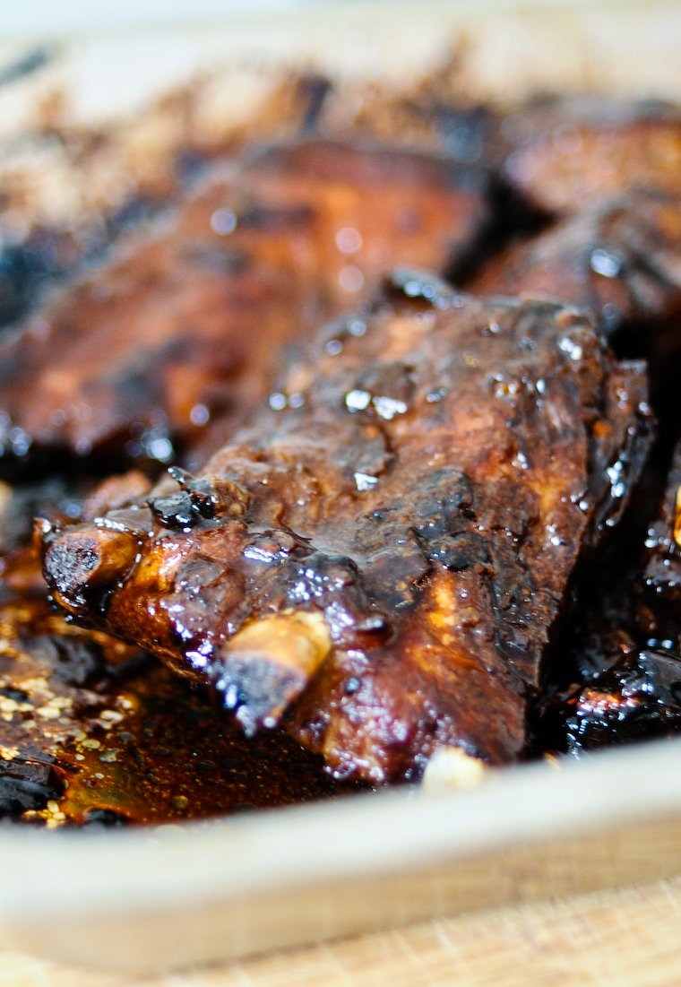 Chinese Marinated Pork Ribs