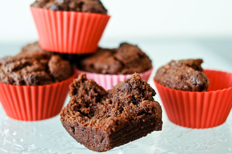 Chocolate Coconut Muffins Recipe | Chocolate & Zucchini