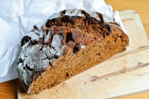 Rye and Red Miso Bread