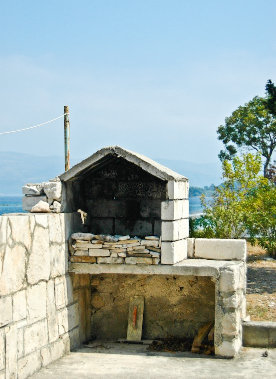 An oven in Croatia