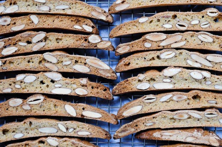 Almond and Orange Blossom Croquants Cookies Recipe