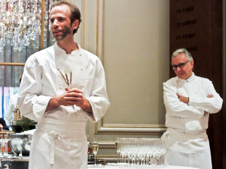 Dan Barber and Alain Ducasse.