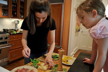 Parents Who Cook: Amanda Hesser and Merrill Stubbs
