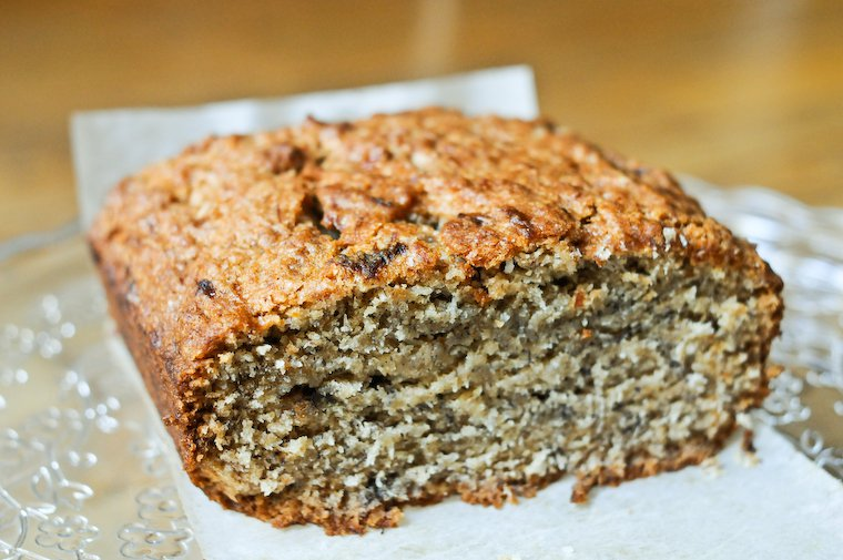 Vegan Banana Coconut Bread