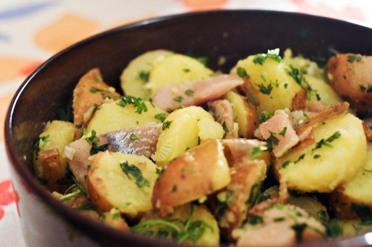 Smoked Herring and Potato Salad Recipe