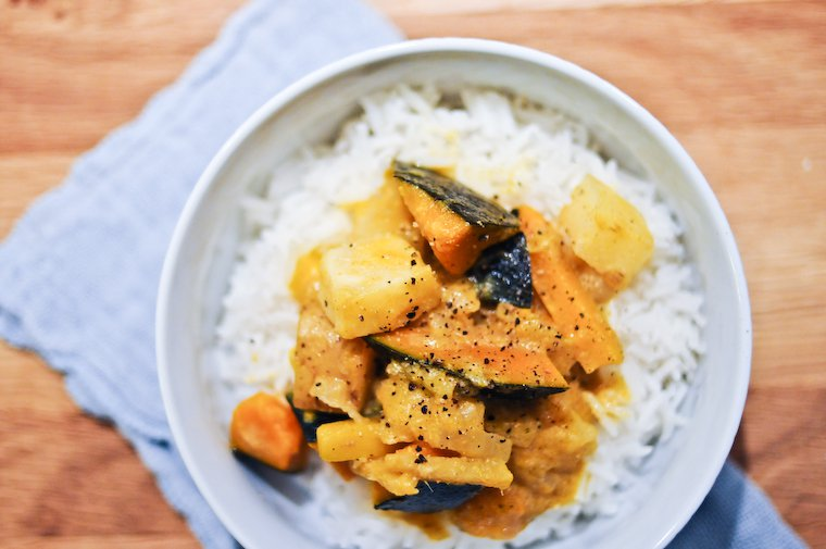 Winter Vegetable Curry Recipe