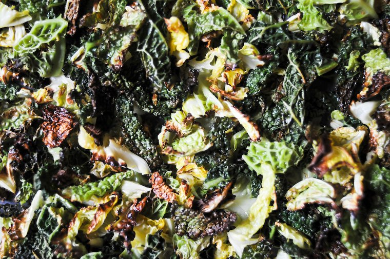 Roasted Savoy Cabbage Recipe