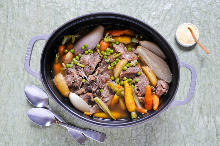 Springtime Pot Au Feu Beef Stew Recipe Chocolate Zucchini