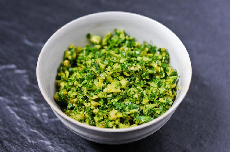 Hazelnut Gremolata Recipe