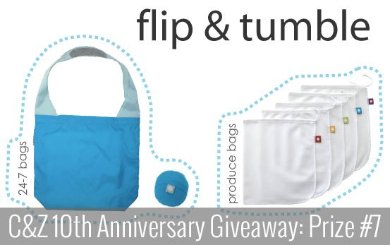 10th Anniversary Giveaway 7 Reusable Ping And Produce Bags From Flip Tumble