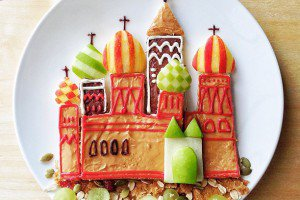 Saint Basil's Cathedral by Samantha Lee.