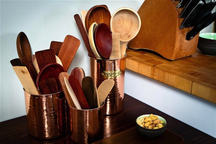 Earlywood Utensils photographed by Dan Armstrong.