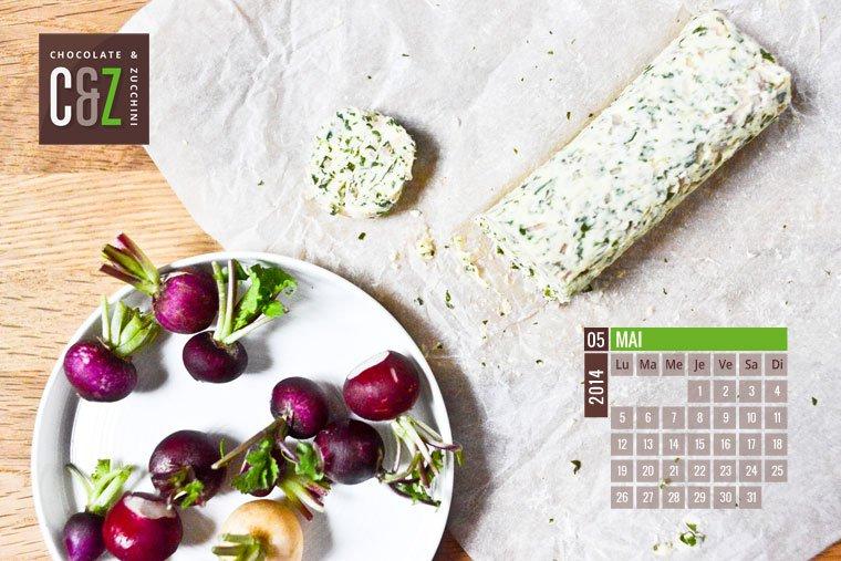 May 2014 Desktop Calendar