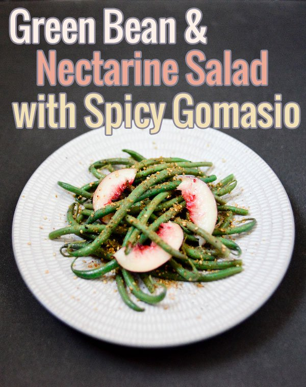 Green Bean and Nectarine Salad
