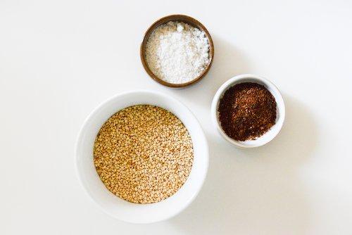 Gomasio ingredients