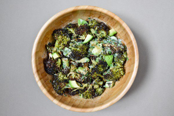 Charred Broccoli and Avocado Salad