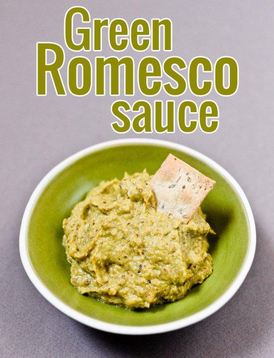 Green Romesco Sauce