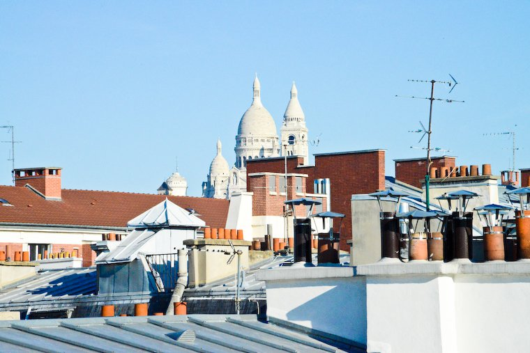 Rooftop View of the Sacré-Coeur