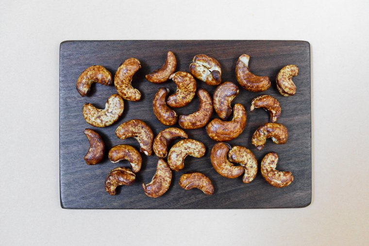 Soy Sauce Roasted Cashews