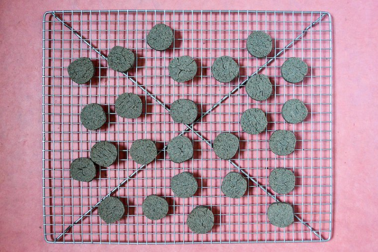 Black Sesame Sablés (Shortbread) Recipe