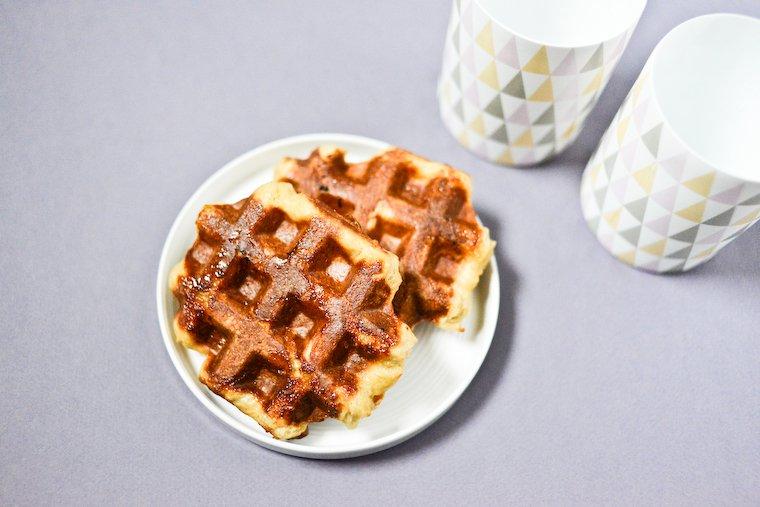 Liège-Style Belgian Waffles Recipe