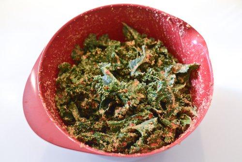 Kale + sauce 2