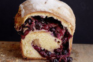 Fresh Blueberry Brioche (photography by Matt Armendariz)