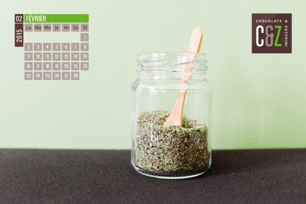 February 2015 Desktop Calendar
